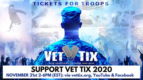 Support Vet Tix 2020